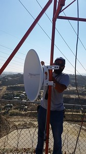 At Cardenas and ready to move 5 GHZ link to USA.