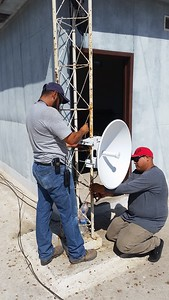 5 Ghz dish too low need to move at Juarez site.