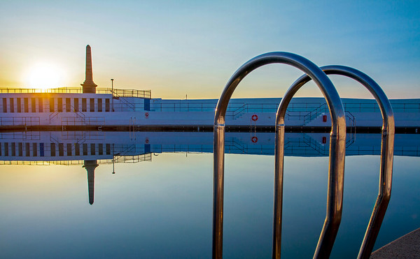 Reflections, Jubilee Pool, Penzance