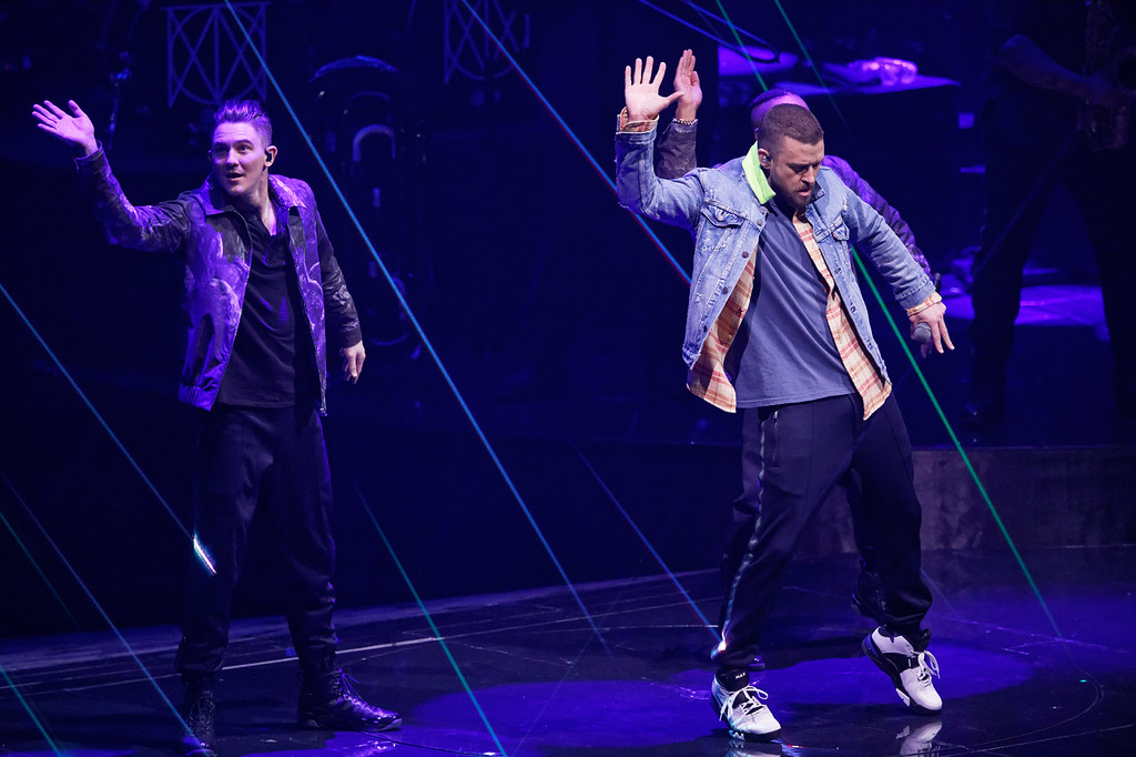 . Justin Timberlake live at Little Caesars Arena on 4-2-18.  Photo credit: Ken Settle