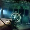 Binoculars inside the wheelhouse