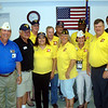Aug. 25 - American Legion College reunion, Class of 2009 - with that years National Commander, Clarence Hill, on her immediate left