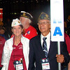 Aug. 29 - Convention floor with Past Area B Vice-Commander Andy Jaime