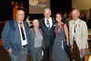 Some fellow members of the Arizona Veterans Hall of Fame and fellow Legionnaires, from left to right - Rollin Kohrs, Past Legion Departmernt Commander George Cushing (with his wife Jan) and Frank Whitten
