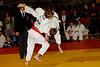 Simen Aas NJJK kaster svensken Simon Ewenborg fra Trollhættan Judoklubb i  U17 - 60 kg