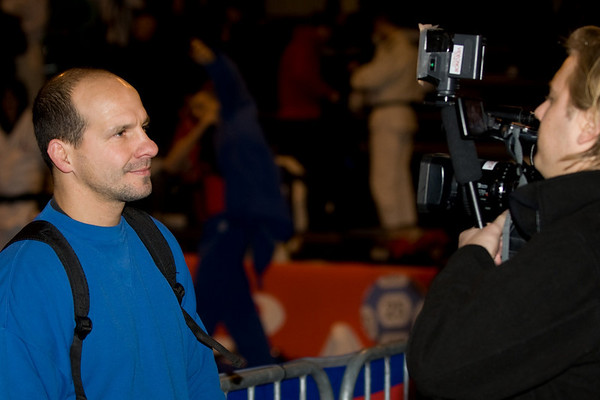Anders Dahlin - National Coach - Norway Being Interviewd by Tobis Prosch Simonsen, Viasat