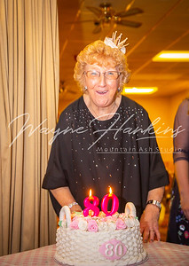 Judy Purslows 80th Birthday