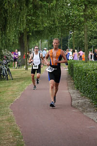 Triathlon Noordwijkerhout hardlopen (10)