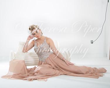 Julia 2016 peach and black