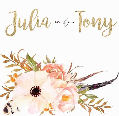 Julia & Tony