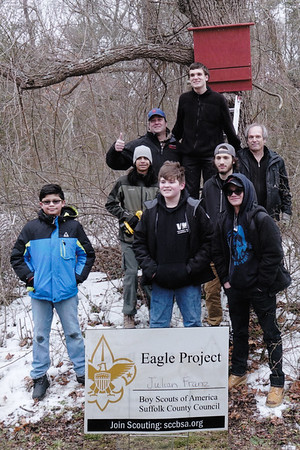Julian Franz Eagle Scout Project