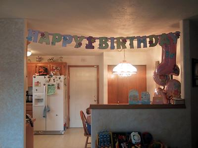 Juliana - 1st Birthday