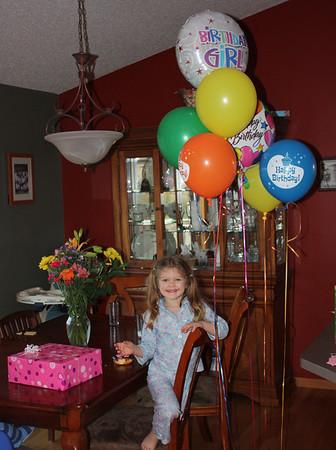 Juliana - 5th birthday party