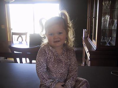 Juliana 2 years old