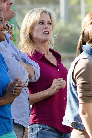 Julie Bowen and Ty Burrell Films Modern Family