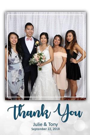 2018-09-22 - Julie & Tony Wedding Entrance