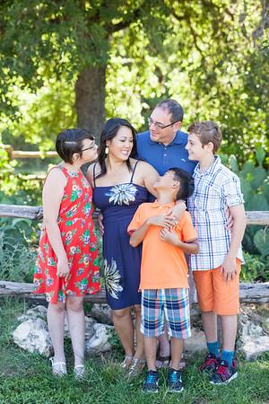 julie + family