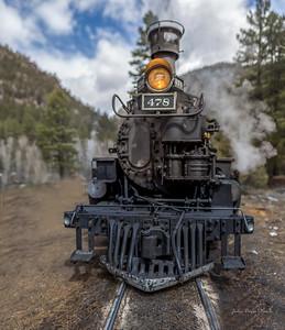 Trains - Durango/Silverton - Mountain Top