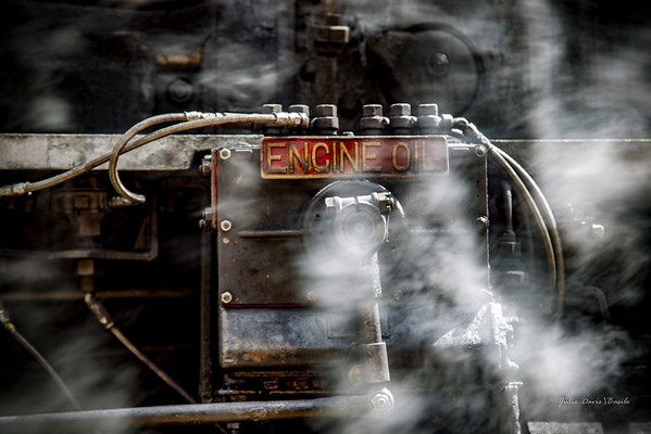 Trains - Engine Oil on Steam Engine