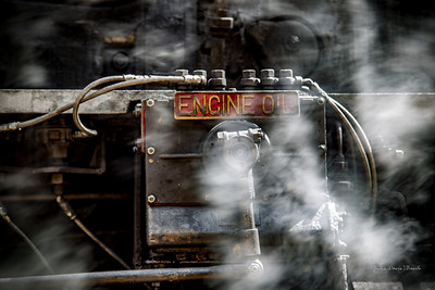 Trains - Engine Oil on Steam Engine