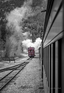 Trains -  Red Caboose