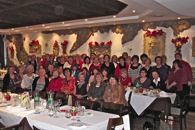 Julietes' Christmas Luncheon at Ellada