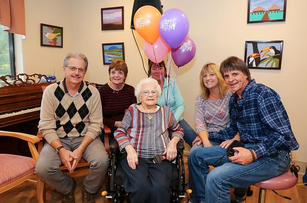 Juliette Hammond Celebrates 109th Birthday