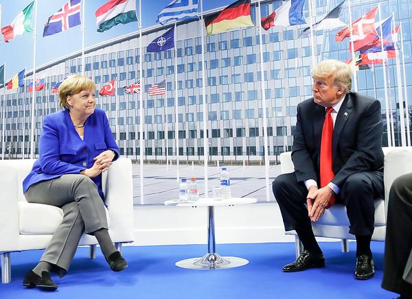 APTOPIX Trump NATO Summit