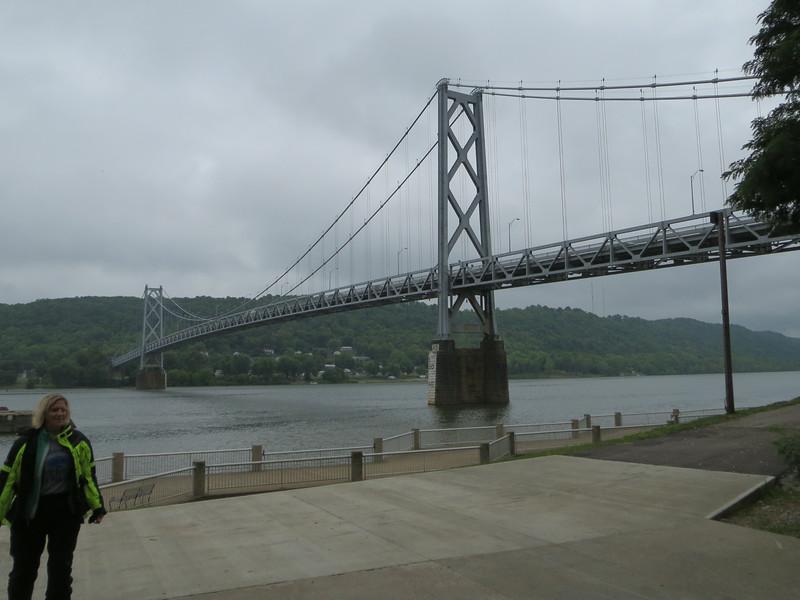 Day 2: Maysville, KY, the old Ohio R bridge