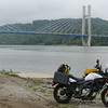 Day 2: Maysville, KY; the new Ohio R bridge