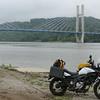 Day 2: Maysville, KY; the new Ohio R bridge