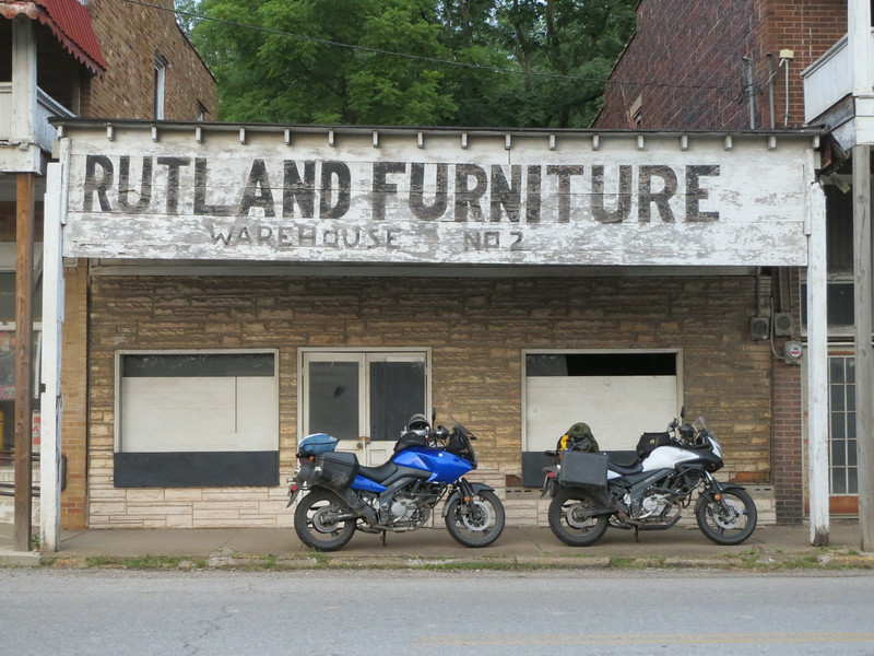 Day 3: back in Ohio, this abandoned store caught my eye.  Not sure why.  A lot of run down towns / downtowns in KY, WV, and Ohio.  Sad.