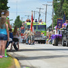 "Floats and displays around the theme of ""Happy Birthday Teutopolis"" crowded Main Street Sunday for the Knights of Columbus Teutopolis Parade."