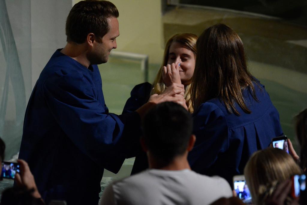 July 2015 Baptisms
