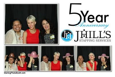 J Hills Staffing Services - 5 Year Anniversary