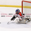 072616  Wesley Bunnell | Staff<br /> <br /> The Nutmeg Games held the opening games for 10U boys hockey on Tuesday July 26th. The Central CT Capitals played the Western Mass Bulldogs.  G Alex Dougherty with a save.