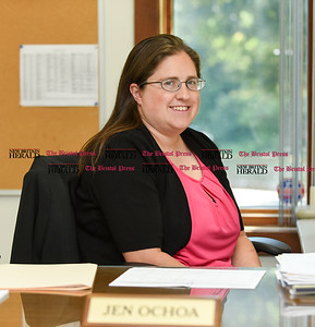 072716  Wesley Bunnell | Staff  Jennifer Ochoa is Berlin's new Director of Community, Recreation and Park Services.