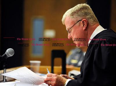 7/28/2016 Mike Orazzi | Staff Judge Dyer in Bristol Superior Court Thursday afternoon.