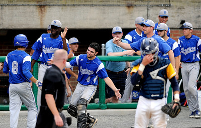 6/4/2016 Mike Orazzi | Staff Bristol Eastern during a win in the Class L Quarterfinal at Muzzy Field Saturday.