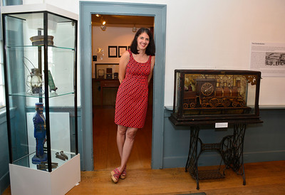 7/1/2016 Mike Orazzi | Staff Patti Philippon at the American Clock & Watch Museum on Friday.