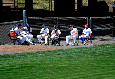 7/19/2016 Mike Orazzi | Staff The Bristol Blues bullpen on Tuesday morning.