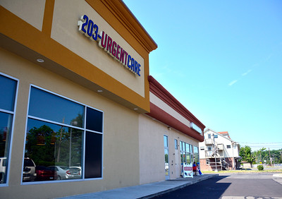 7/21/2016 Mike Orazzi | Staff The recently opened 203-Urgent Care in Southington.