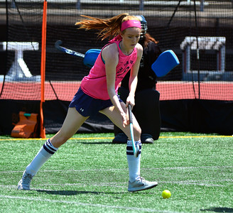 7/23/2016 Mike Orazzi | Staff  Immaculate Mustangs's Megan Coyle during a U18 game at Veterans Memorial Stadium Saturday afternoon with a team from Newington.