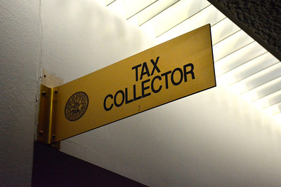 7/5/2016 Mike Orazzi | Staff The Tax Collector's office at Bristol City Hall on Tuesday.