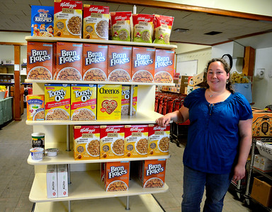 7/5/2016 Mike Orazzi | Staff Plymouth Community Food Pantry's Erin Kennedy.