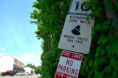 7/6/2016 Mike Orazzi | Staff Bristol police reported several cars were broken into in the Chippens Hill area of town.