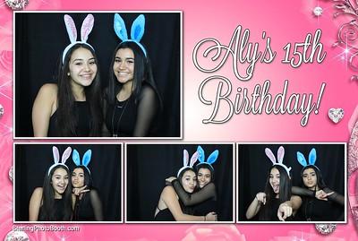 Aly's 15th Birthday