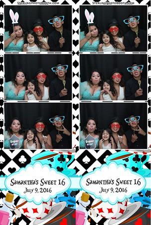 Samantha's Sweet 16