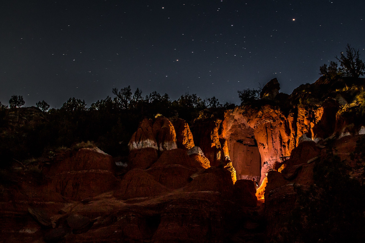 Lightpainting inside a cave at Palo Duro Canyon. #longexposure #light #lightpainting #palodurocanyon #texas #landscape #night