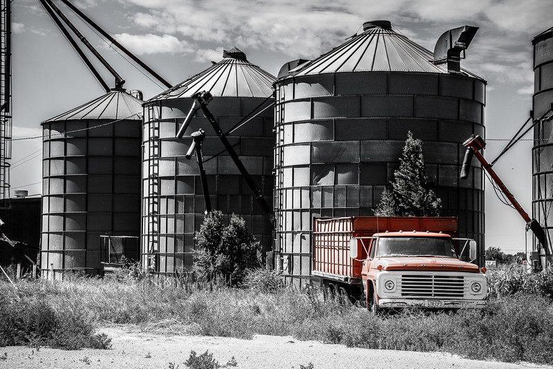 Grain Silos, Sherman County